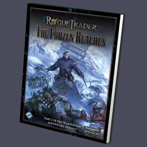 Rogue Trader: Frozen Reaches | Book cover and interior art for Warhammer 40000 - 40k, 40,000, WH40k, science fiction, Roleplaying Game, Role Playing Game, RPG, Games Workshop Limited, Ltd., Fantasy Flights Games, FFG, Fantasy Flights Publishing Inc. | Create your own roleplaying game books w/ RPG Bard: www.rpgbard.com | Not Trusty Sword art: click artwork for source