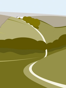 Ian Mitchell - Leaving Thixendale