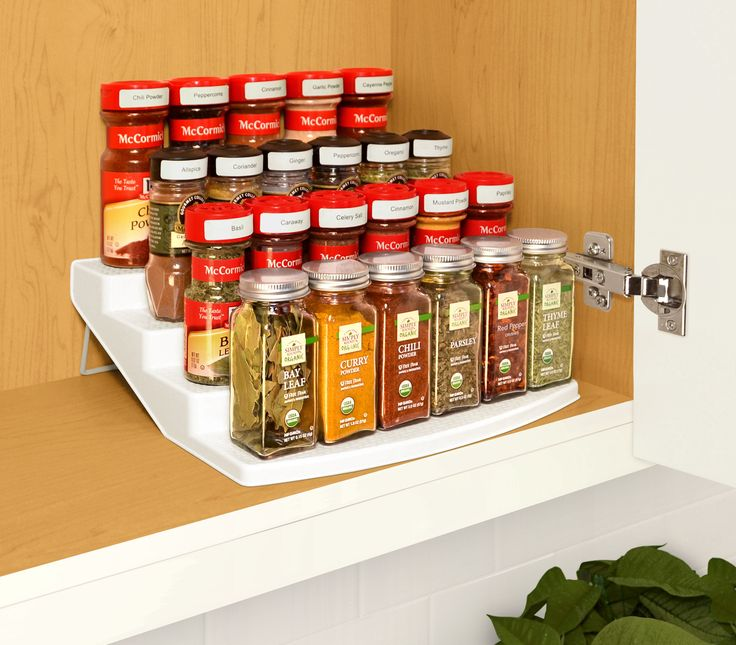 Spice Rack For Kitchen Cabinets: 17 Best Ideas About Spice Storage On Pinterest