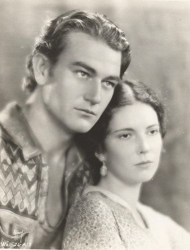 John Wayne And Marguerite Churchill - The Big Trail 1930