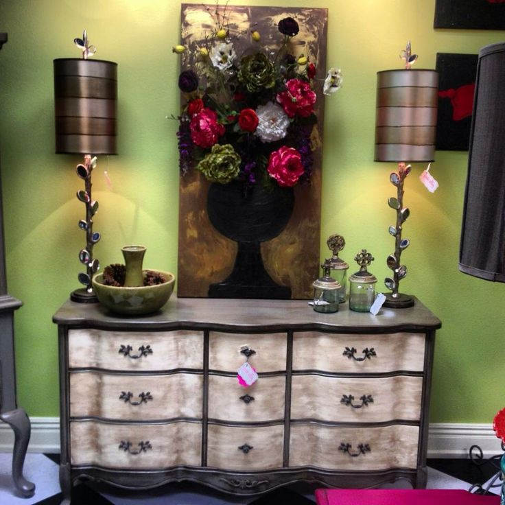 Captivating Flower Art All Located At Posh Alley Boutique In Bentonville, AR.