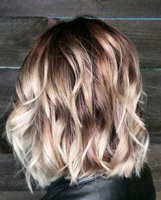 объемная стрижка на тонкие волосы