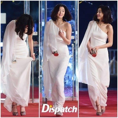 Jeon Ji Hyun from last night's SBS Drama Awards
