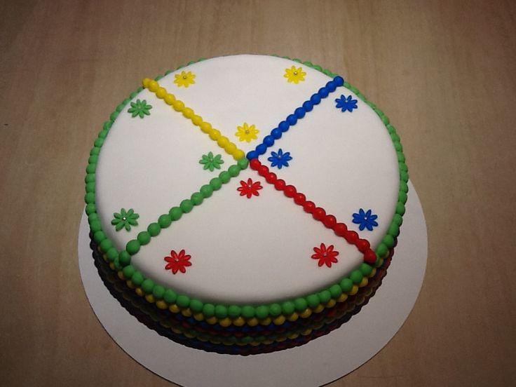 Kindergarten taart