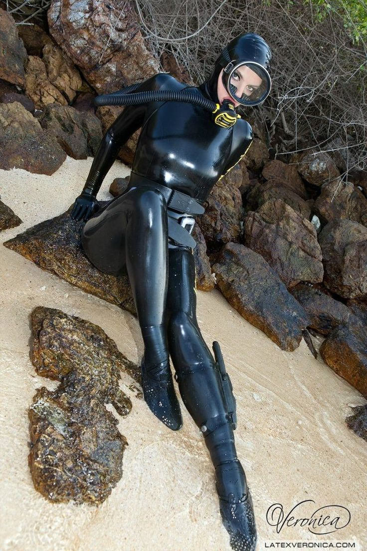 Scuba diving fetish