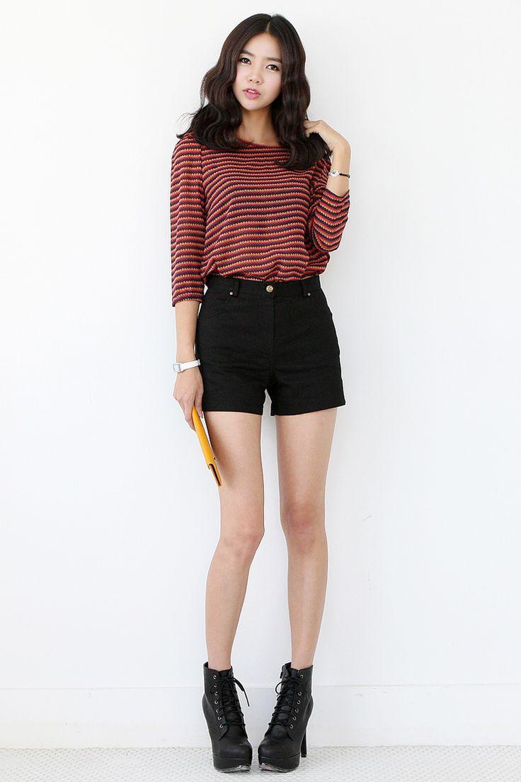 25+ best ideas about Black shorts fashion on Pinterest ...