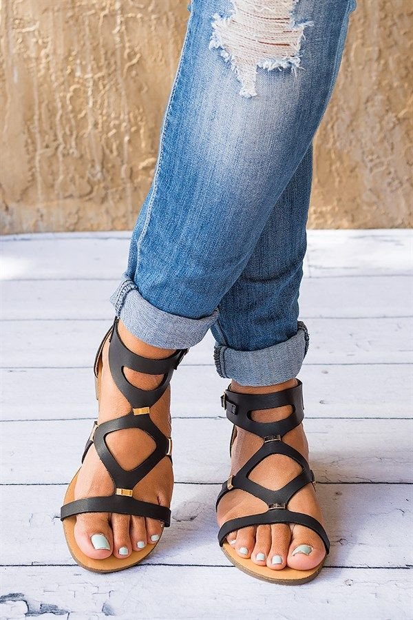 Jessica Strappy Sandals | 3 Colors