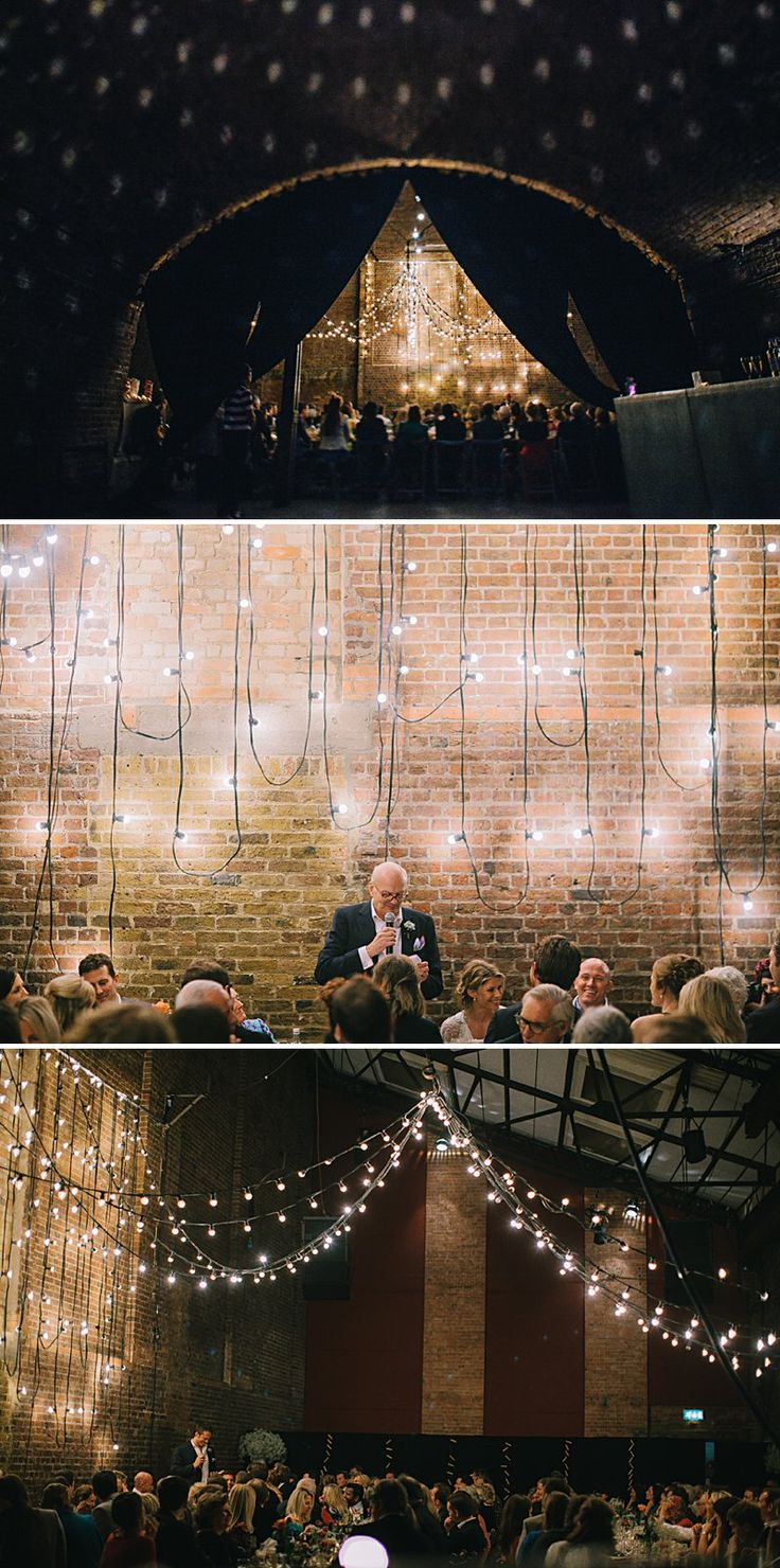 licensed wedding venues in north london%0A A cool and contemporary english city wedding in London with Jenny Packham  dress and lots of DIY home made elements  Bridesmaids in Coast and  Photography by