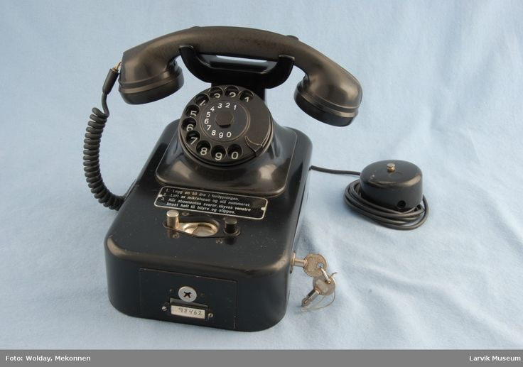 DigitaltMuseum - Telefon