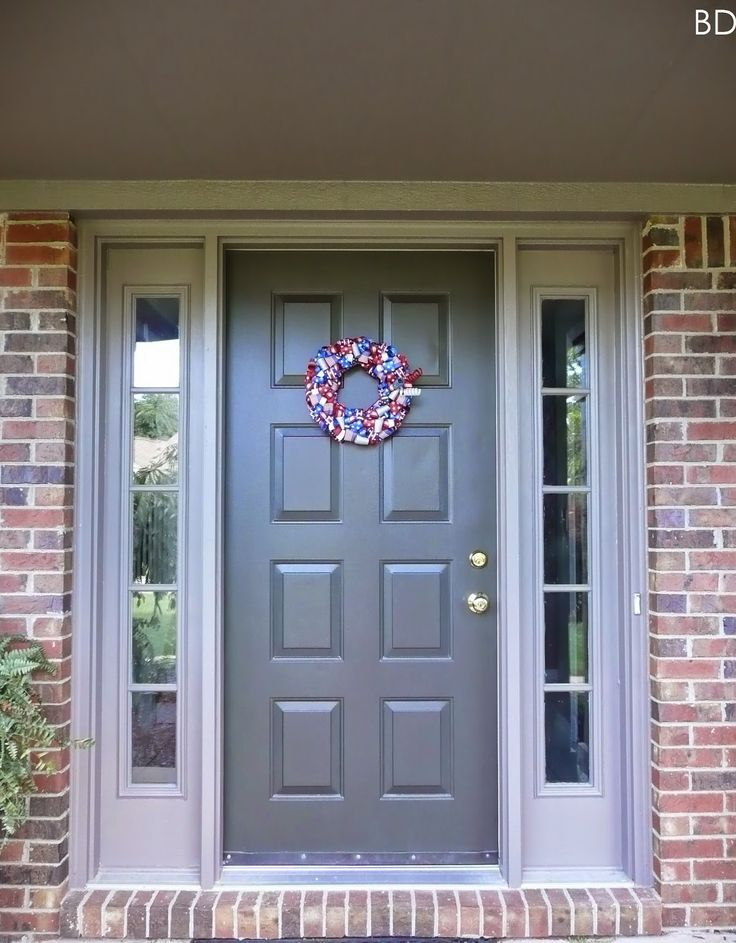 The 19 best Front doors images on Pinterest | Bricks, Exterior ...