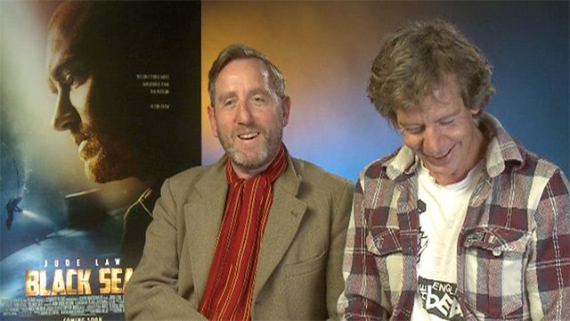 Michael Smiley and Ben Mendelsohn on Black Sea:  watch this now