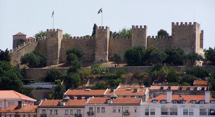 Castelo de São Jorge in Lisboa