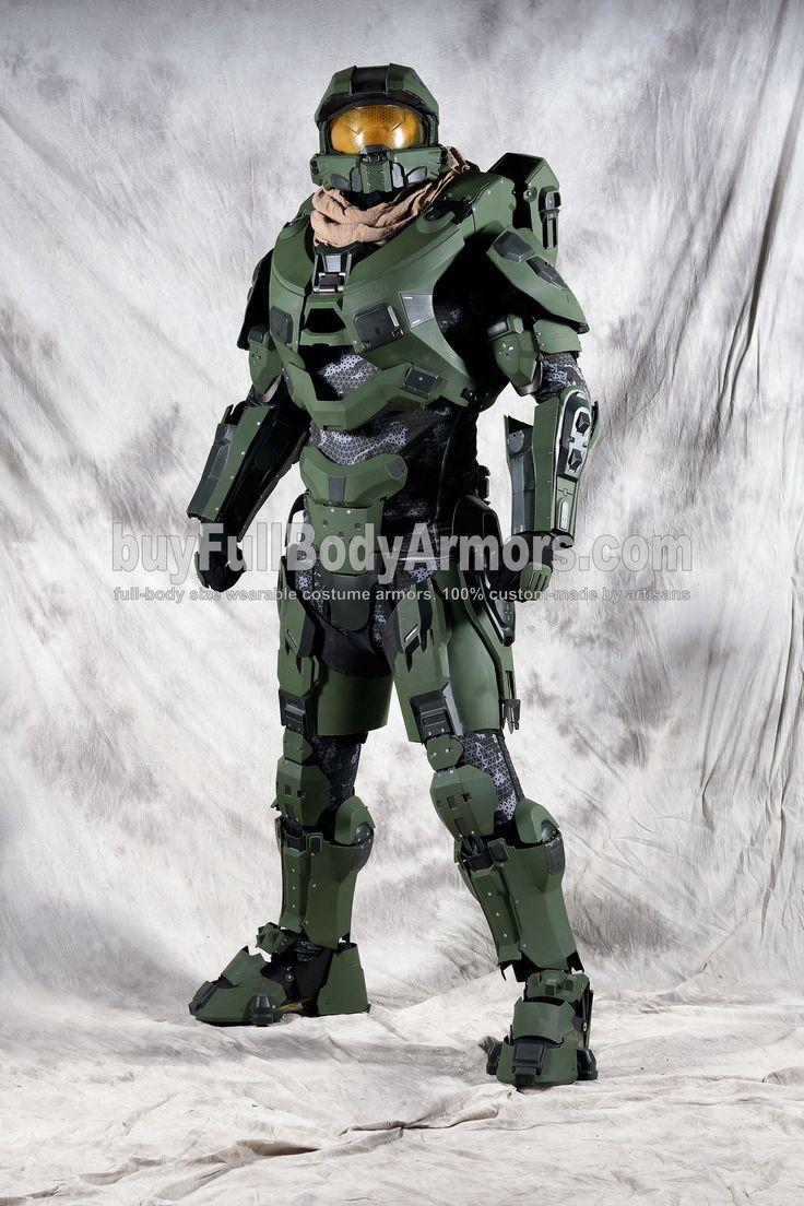 Halo 5 Master Chief Armor Suit Costume 2