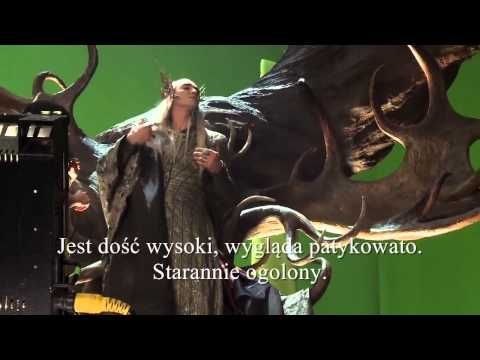 Hobbit. Pustkowie Smauga EE/BtS. THRANDUIL deleted scenes. Napisy PL - YouTube