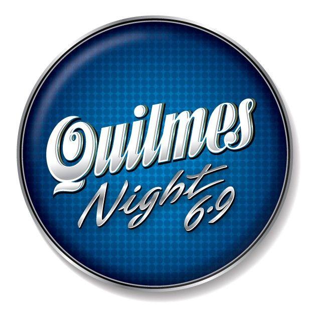 Cerveja Quilmes Night 6,9%, estilo Standard American Lager, produzida por Quinsa, Argentina. 6.9% ABV de álcool.