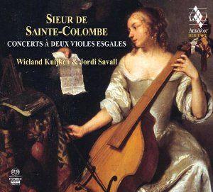 Amazon.com: Sainte-Colombe: Concerts a deux violes: Music