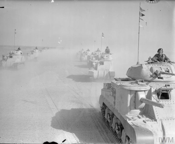 THE BRITISH ARMY IN NORTH AFRICA 1942