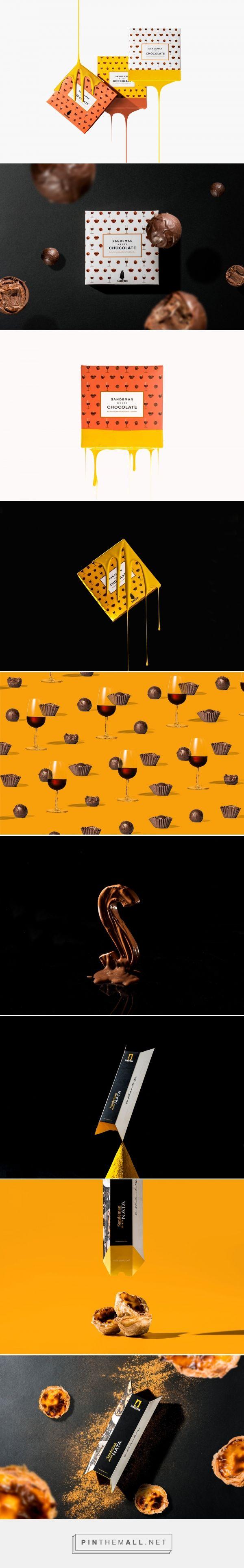 Sandeman Meets Chocolate packaging design by VOLTA - http://www.packagingoftheworld.com/2017/05/sandeman-meets.html