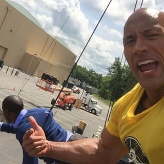 The Rock's point of view: | The Rock And Kevin Hart Uploaded The Most Perfect Dueling Instagram Videos