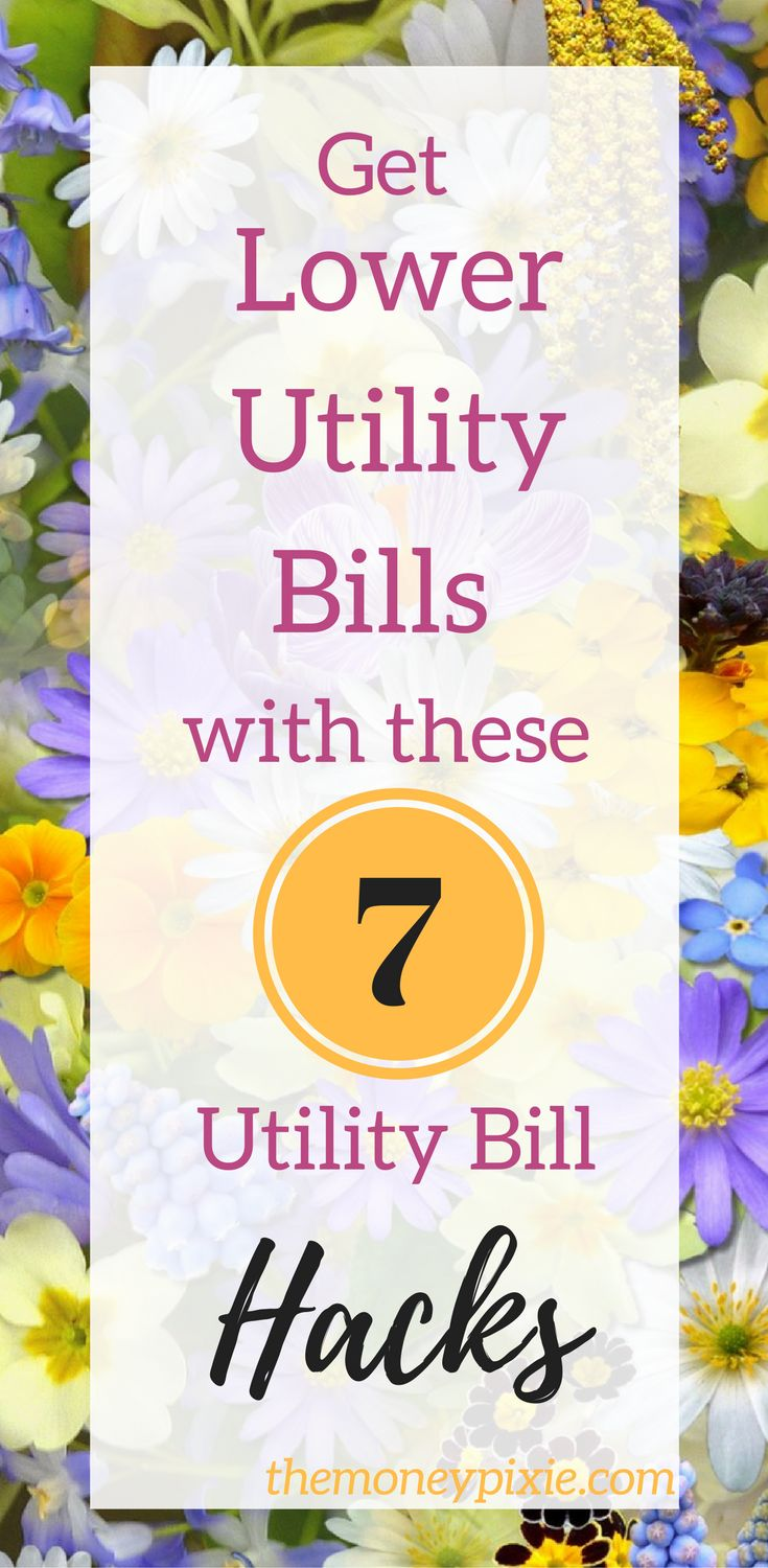 You can get lower utility bills with these utility bill hacks. These 7 tips will help you start lowering your utility bills immediately. Read on for more information right now.