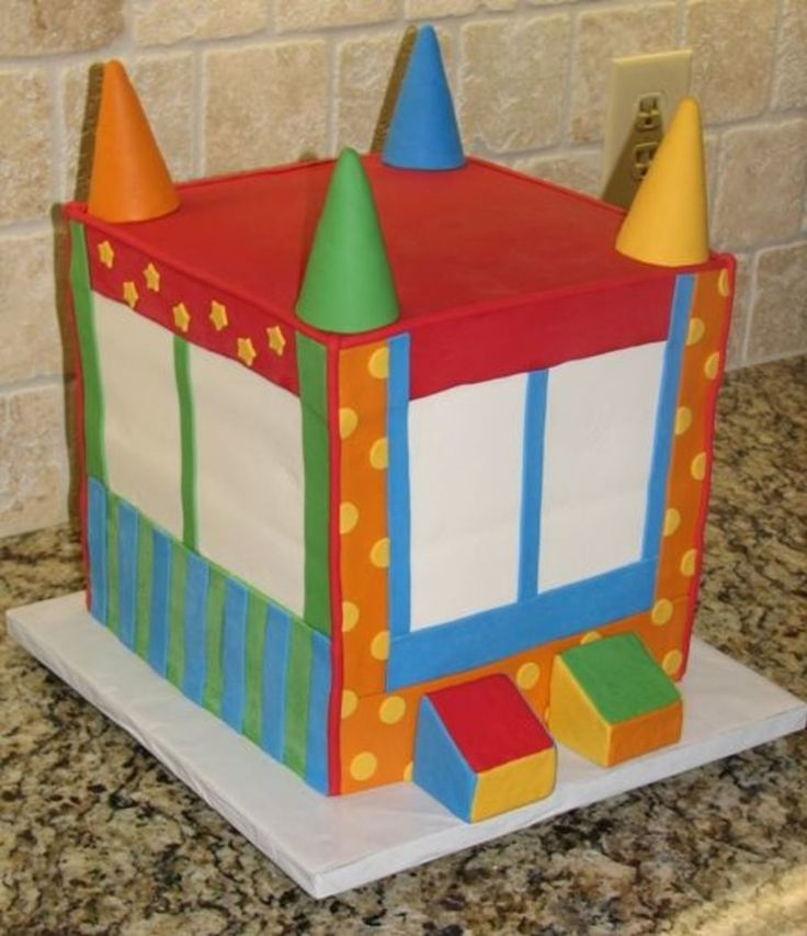 7 Best Bounce House Cake Images On Pinterest Birthday Party