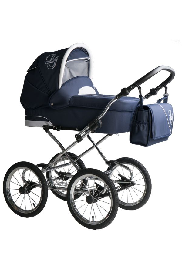 Bebebi Loving | 4 in 1 combi stroller | ISOFIX Set | Color: Blue Ardent