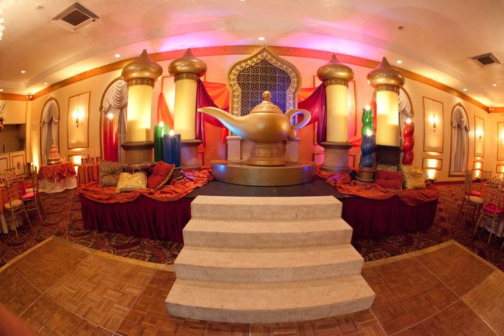 arabian theme stage our quince themed stages pinterest Arabian Nights Backdrops Arabian Nights Sweet 16 Centerpieces