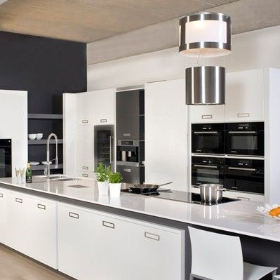 1000 idee n over witte kasten op pinterest witte keukenkasten gemoderniseerde keuken en - Heel mooi ingerichte keuken ...