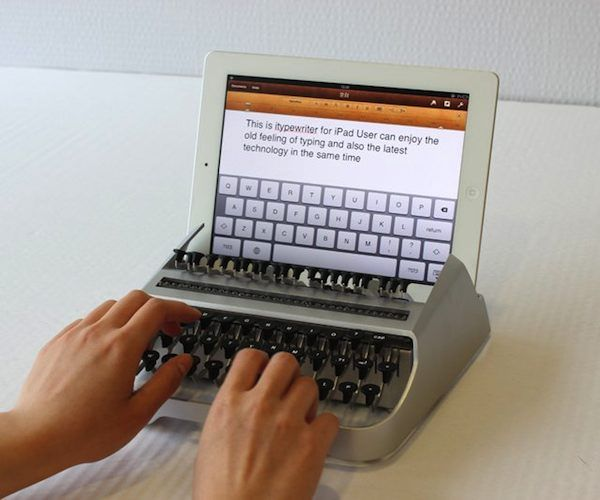 iTypewriter iPad Stand and Keyboard – $799