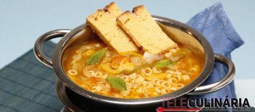 Receita de Sopa da caldeirada. Descubra como cozinhar Sopa da caldeirada de maneira prática e deliciosa com a Teleculinária!