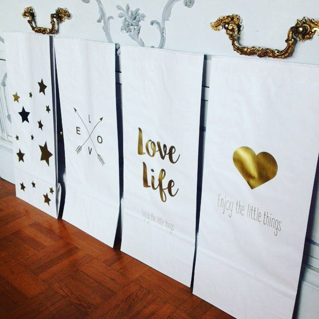 Petit sac de rangement papier kraft, idéal à mettre sur son bureau : Meubles et rangements par suite-creative-babies