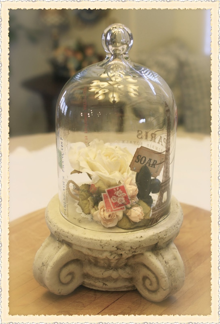 Best 25 cloche decor ideas only on pinterest glass dome for Bell jar ideas