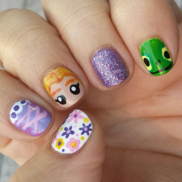 Rapunzel Nails: 17 Best Images About Nails On Pinterest