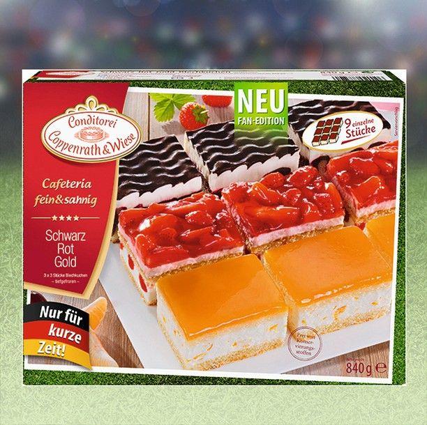 Zum Anpfiff Ein Stuck Kuchen Gefallig Unser Schwarz Rot Gold Blechkuchen Jetzt Fur Kurze Zeit Cafeteri Schwarz Rot Gold Coppenrath Und Wiese Stuck Kuchen