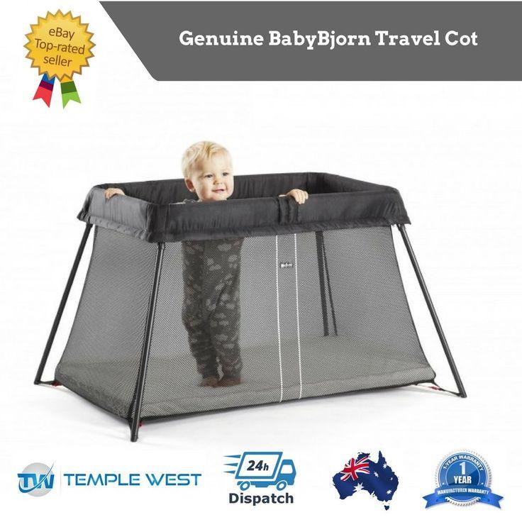 Travel Cot BabyBjorn Portable Crib Bassinet Portacot Light Weight Easy Set Up