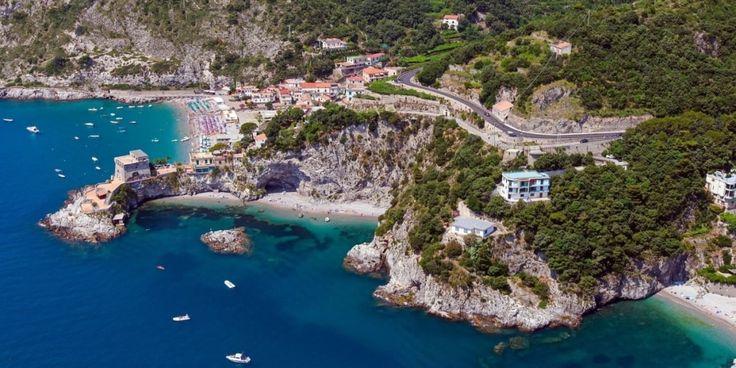Beach of Erchie on the Amalfi Coast  #AmalfiCoast #Amalfi #Italy #Beach