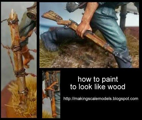 how to make wood look paint
