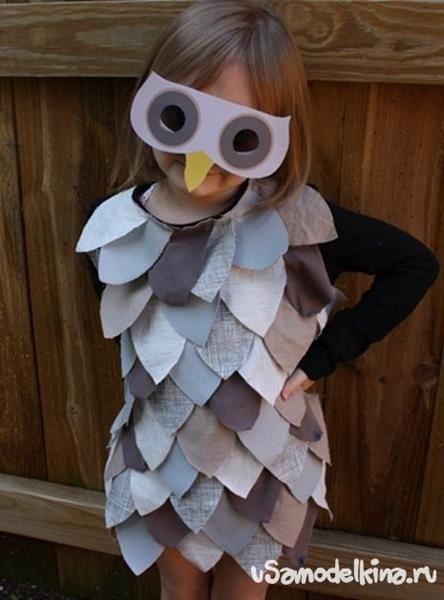 Как можно сделать костюм для мальчика из хоз материала