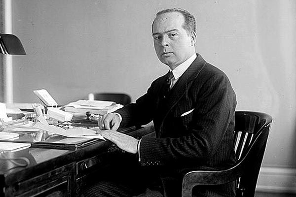 1916:  Special Assistant Leland Harrison heads Secretary of State Lansing's Secret Intelligence Bureau, collecting and processing information from various U.S. and allied information sources during the First World War, and providing regular daily reports to the Secretary.  (Source:  Library of Congress, National Photo Company Collection)