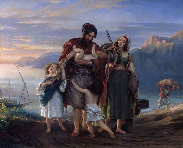 Возвращение контрабандистов. Эдуард Магнус. Описание картины, скачать репродукцию.