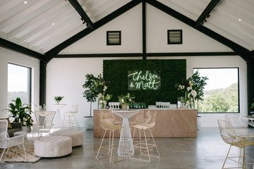 Real Wedding // Chelsea + Matt were wed in the amazingly scenic Byron Bay Hinterland. After a week of torrential rain, our wet weather plan was implemented and adored by all | Created by The Events Lounge www.theeventslounge.com.au