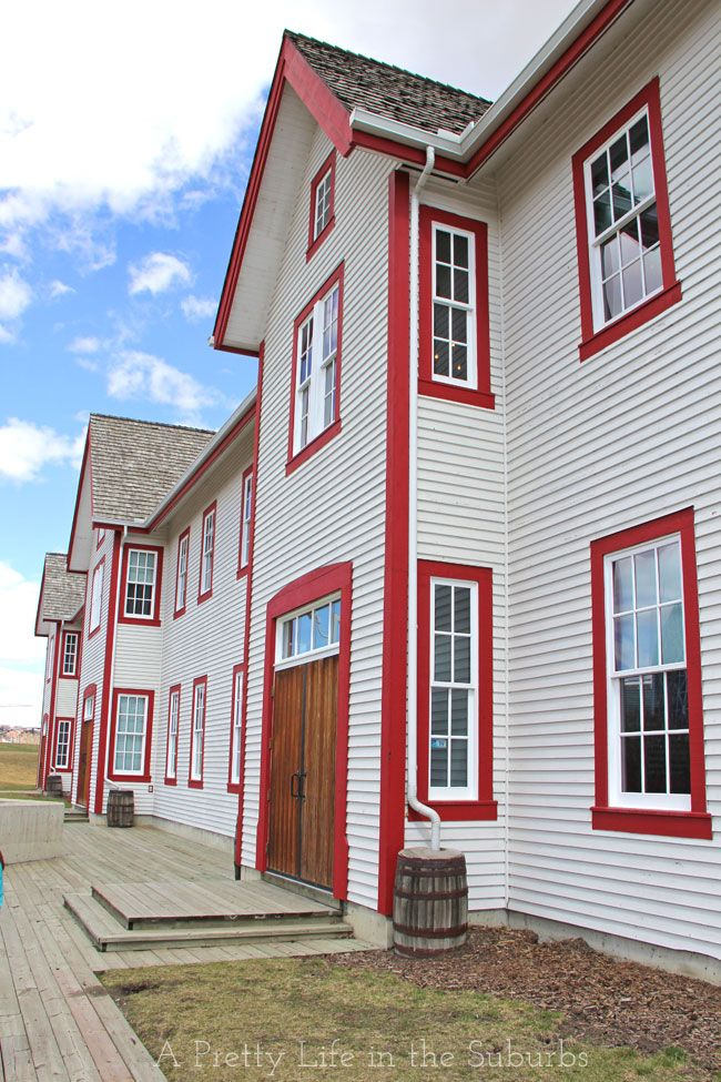 Fort Calgary, Calgary Alberta - a great place to take the kids for some historical fun! They have a wonderful Sunday Brunch too!