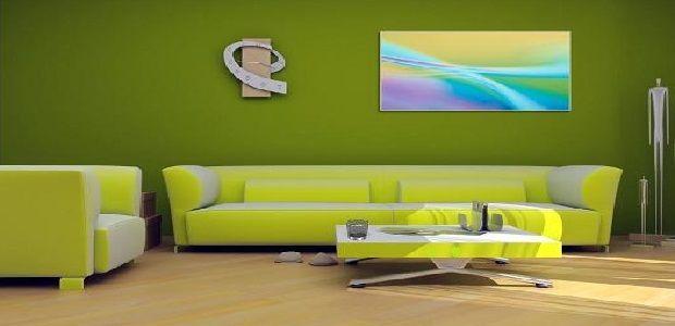 Living Room Decoration Green
