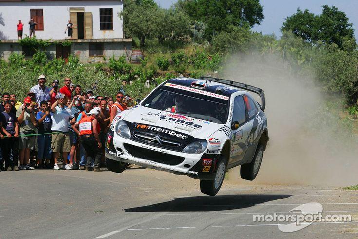 Petter Solberg & Phil Mills, Citroen Xsara WRC, Citroën World Rally Team, Rally Sardinia, Leg three, May 24, 2009.