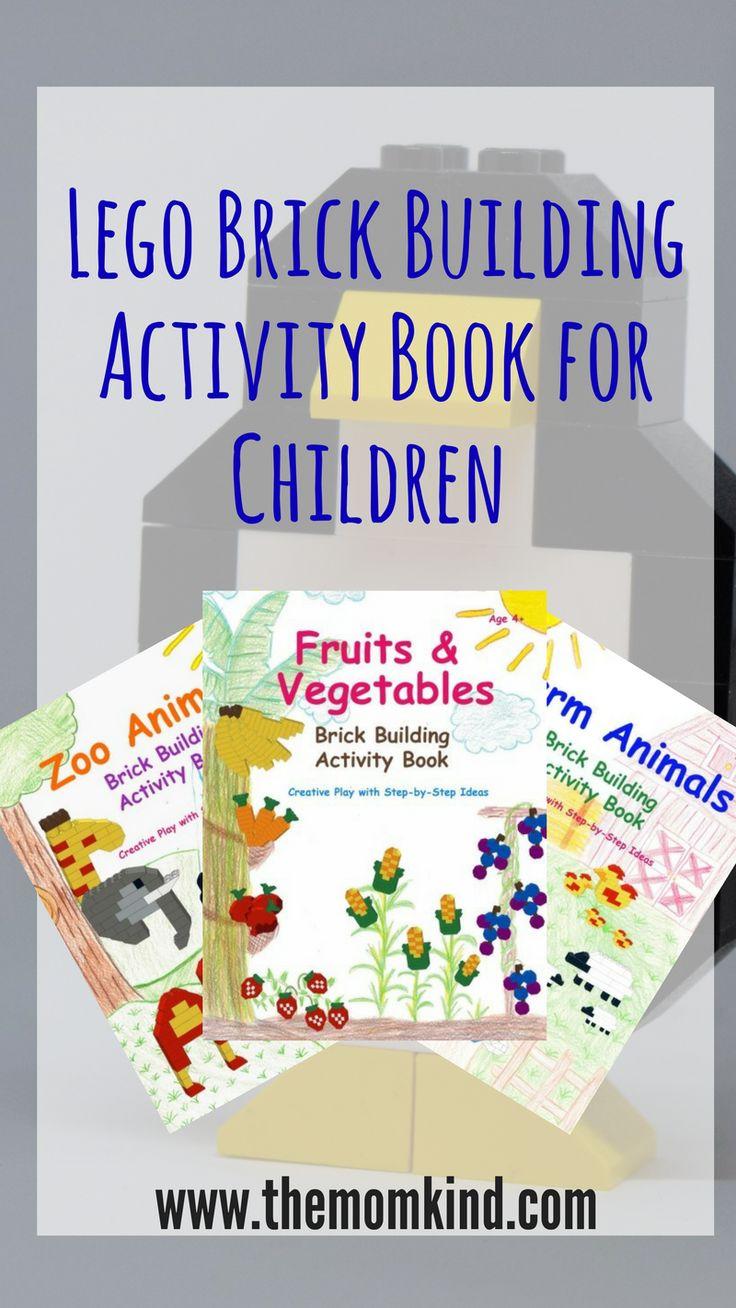Lego Brick Building Activity Book for Children + Giveaway