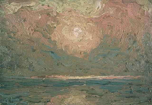 """Sky (""""The Light that Never Was""""), 1913 - Tom Thomson (1877–1917)"""
