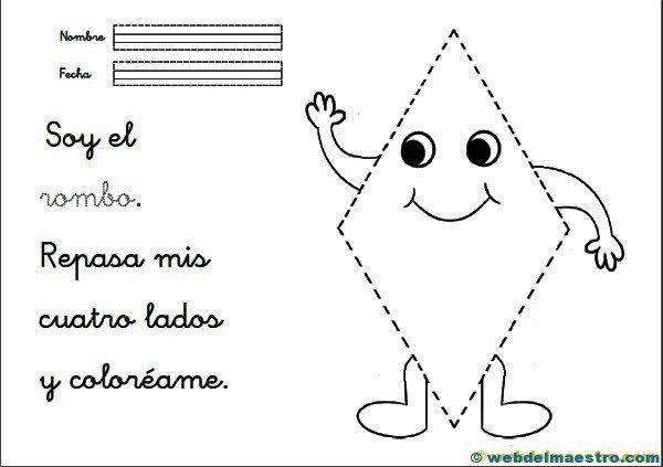 Figuras geométricas para niños - Recursos educativos y material didáctico para niños/as de Infantil y Primaria. Descarga Figuras geométricas para niños