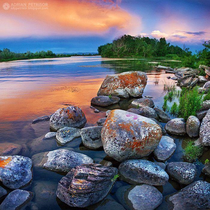 Lake of Colours  (lake near Bacau, Romania)