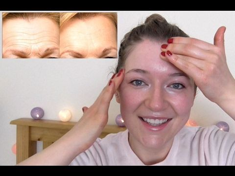 Forehead Wrinkles Massage - Do It While You Watch It
