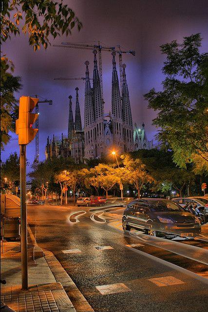 Sagrada Familia, Gaudi   Barcelona